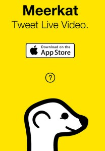 "Van der Chijs, Marc. ""Meerkat - The Future of Live Streaming?"" 2015. CC BY-ND 2.0"